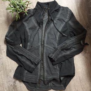 XCVI Kiri stretch poplin jacket with ruching